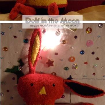 Petit lapin rouge