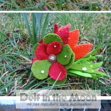 Bouquet en feutrine Marie-Noëlle