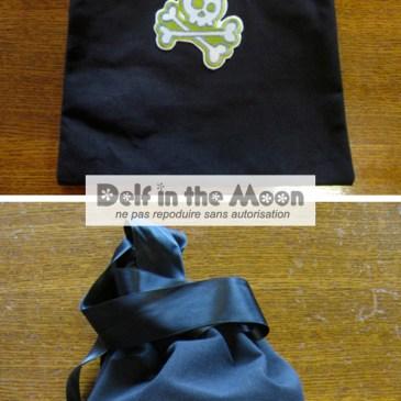 Helmett bag  : Black Savate #6T9