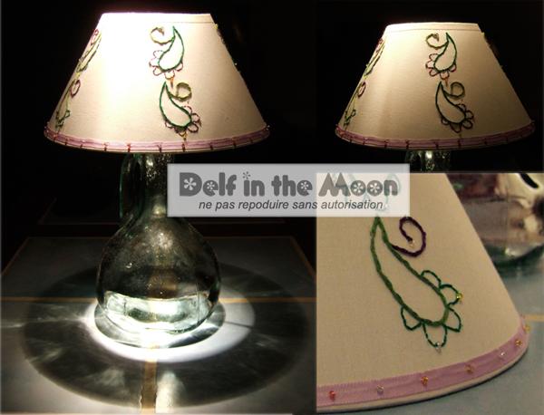 lampe cachemire