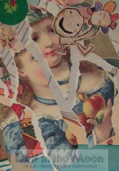 Collages noël 2006 – Mimi
