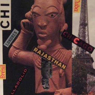 Collages noël 2006 – Sandrine