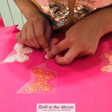 Tee-shirts au fer à repasser d'Alison