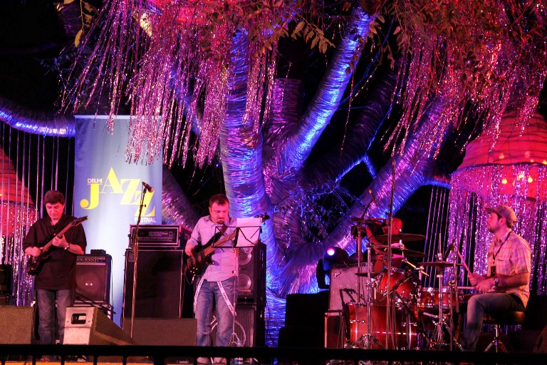DELHI JAZZ FESTIVAL 2012