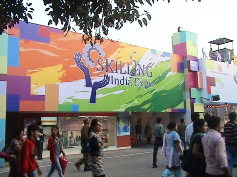 Skilling India – IITF 2012