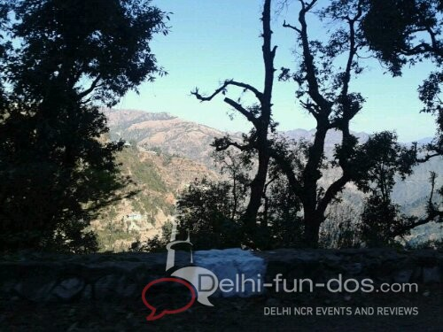 On our way back from fagu-shimla. Very cold but sunny.