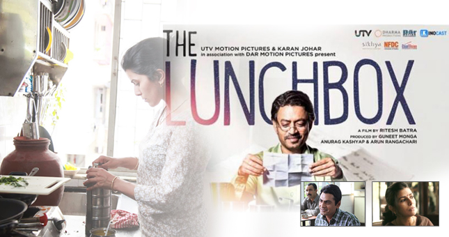 The lunchbox--movie revieThe lunchbox--movie review