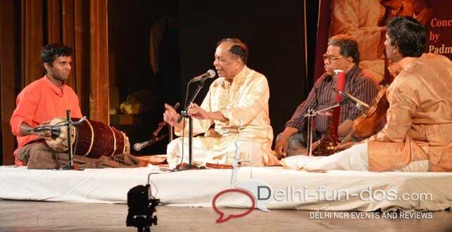 Dr. M Balamuralikrishna – Carnatic recital