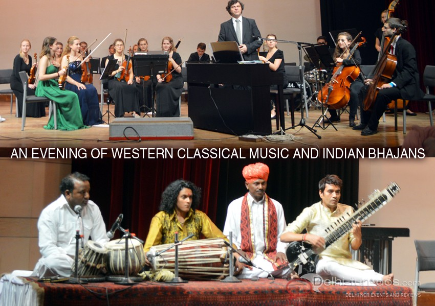 An evening of Western Classical Music and Indian Bhajans at Bahai Temple of Worship