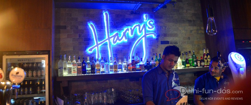 Harry's Bar at Saket: Unveiling of new menu by Chef Vicky Ratnani