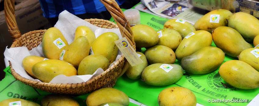 Tis the season for the mango – Mango Mela at Janpath