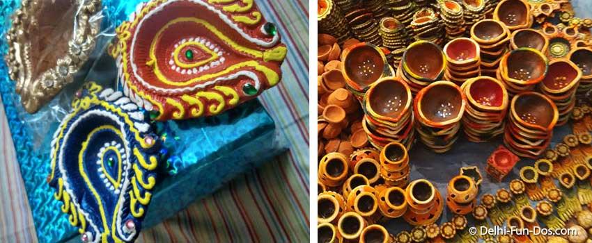 diwali-offbeat-gift-ideas-hand-painted-diyas