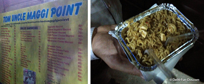 Tom Uncle's Maggi Point – A campus favorite