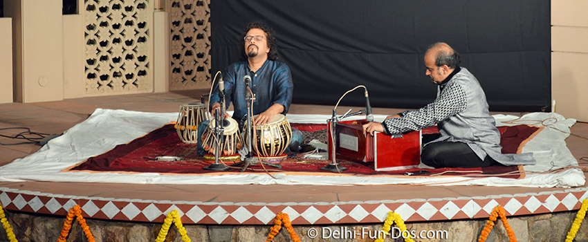 Concert at RIMPA – Bikram Ghosh and Arushi Mudgal