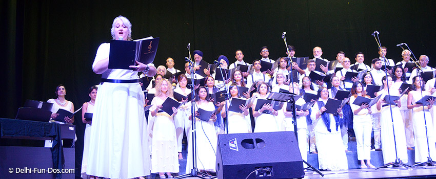 The Capital City Minstrels in A Grand Night for Singing