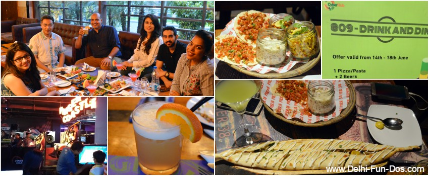 809 – Drink and Dine at DLF Cyber Hub, Gurgaon