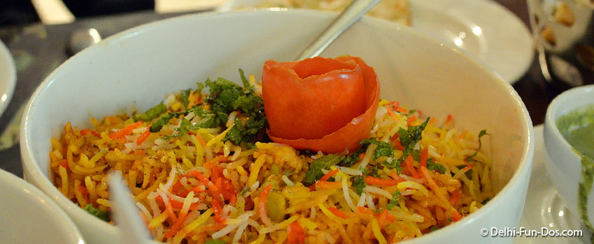 The goodness of Basmati rice