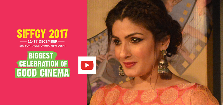 Raveena Tandon inaugurates Smile International Film Festival for Children and Youth