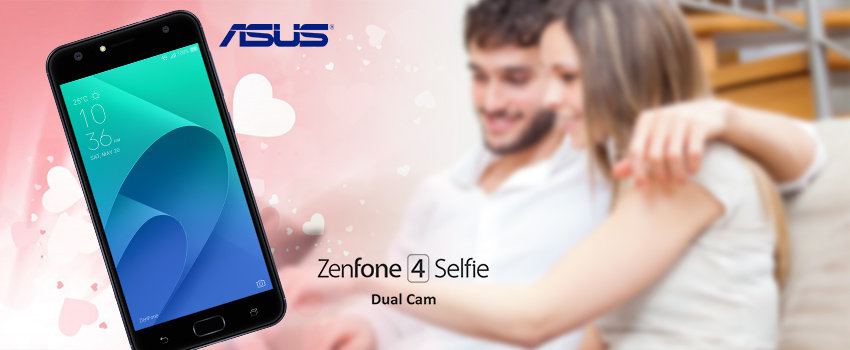 Make your Valentines Day memorable with ASUS ZenFone 4 Selfie Dual Cam