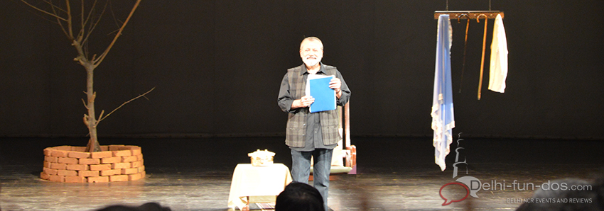 Dopehri – Play reading by Pankaj Kapur