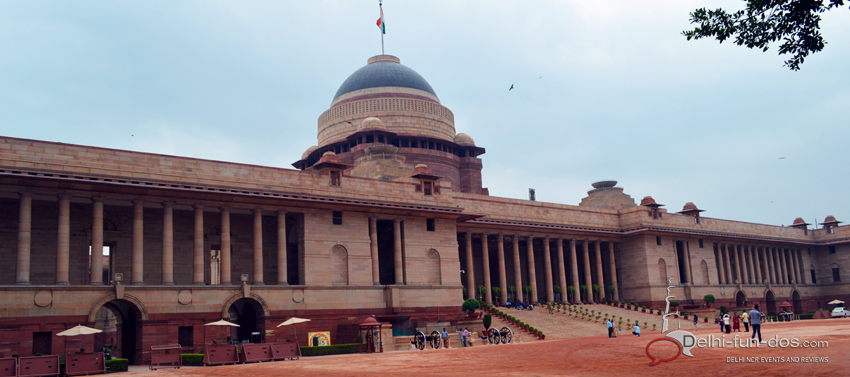 Guided tour to Rashtrapati Bhawan