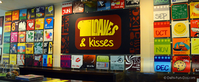 Loaves & Kisses – Cakes and coffee in Gurgaon