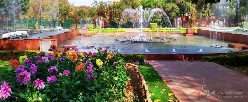 Mughal Gardens – Rashtrapati Bhawan