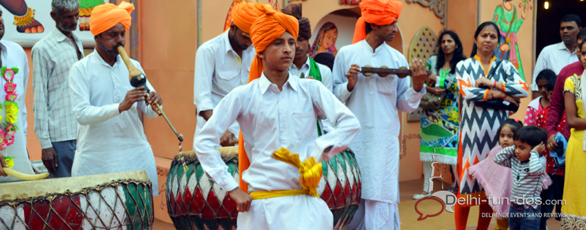 rajasthan-dancers-at-national-culture-festival-of-India