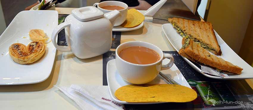 Wagh Bakri Tea Lounge – Connaught Place