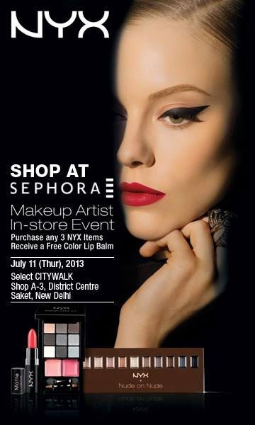Shop at Sephora - Makeup Artist In-Store Event on 11 July ...