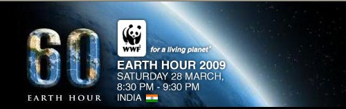 Earth Hour – Saturday 28 March, 8.30 PM Your Time