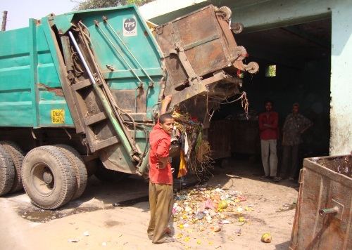 Waste Collection in Delhi