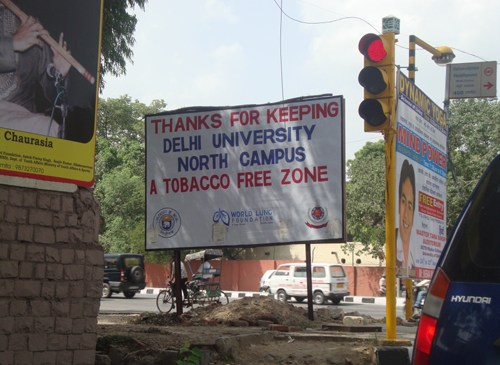 Delhi Youth For a Smoke Free Campus