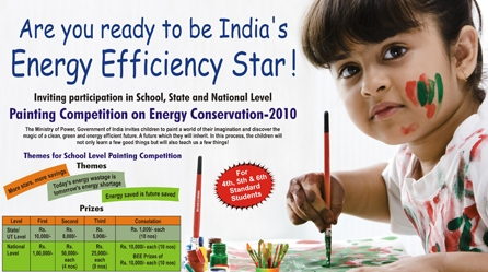 Painting Competition to Hunt for India's Energy Efficiency Star
