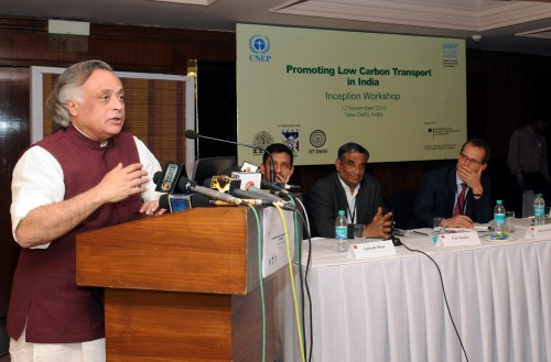 Jairam Ramesh Advocates Three Task Approach for Tackling Climate Change