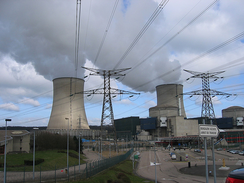 A Nuclear Power Plant in France