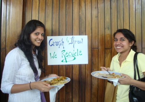 Green your event, recycle