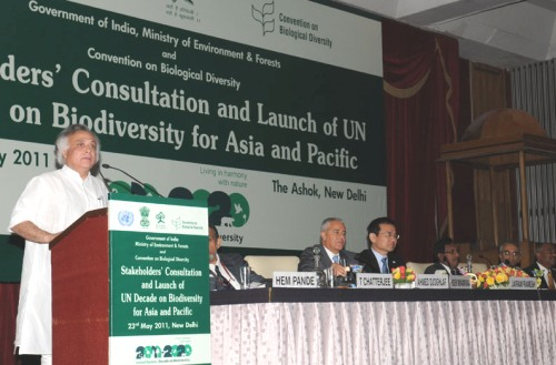 India to Host the First CoP in the UN Decade on Biodiversity 2011-2020
