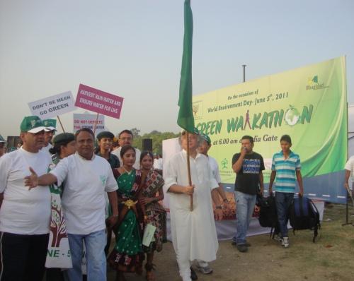 Jairam Ramesh and Dr. Sabata