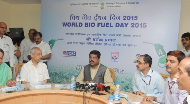 Petroleum Ministry Launches Hybrid Diesel on Biofuel Day
