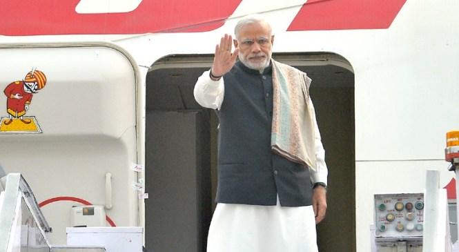 Prime Minister Narendra Modi Leaves for Paris Conference