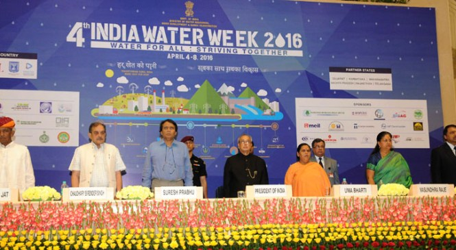 India Water Week Concludes with Call for Multidisciplinary Approach to Water Management