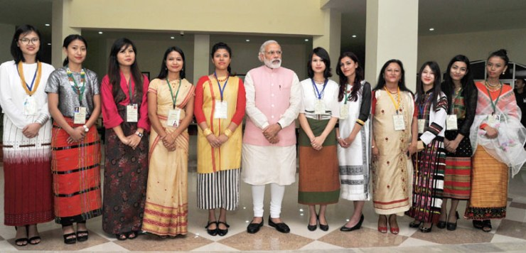 pm-greeted-at-north-east-india