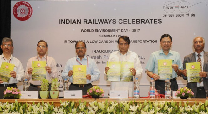 Indian Railways Launches its Sustainability Report on Environment Day