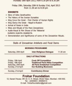 Zoroastrian Odyssey - Details