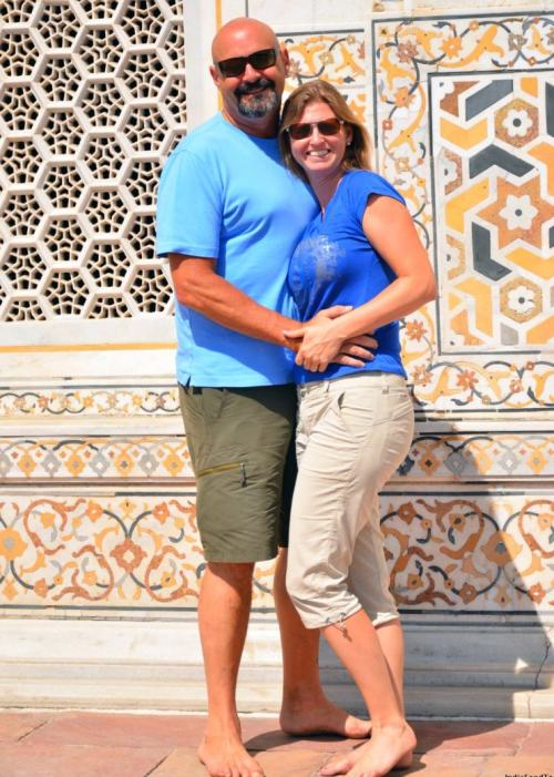 Couples photo shoot in Agra