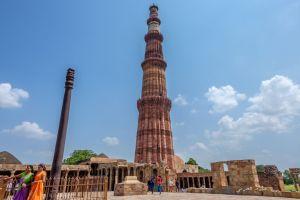 Qutub minar and Iron Pillar