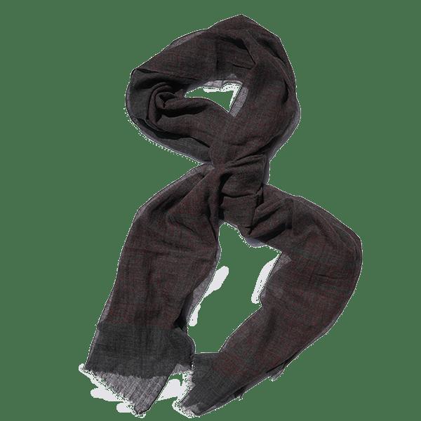 scarf-wool-blockprint-maroon-circular-drape-600px