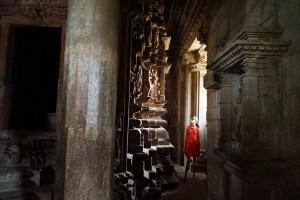 Beautiful light in the temple in Khajuraho