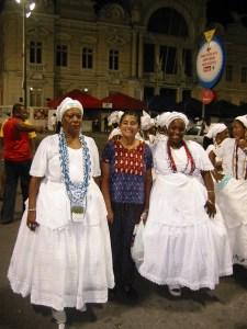 Ketaki and Bahiana women